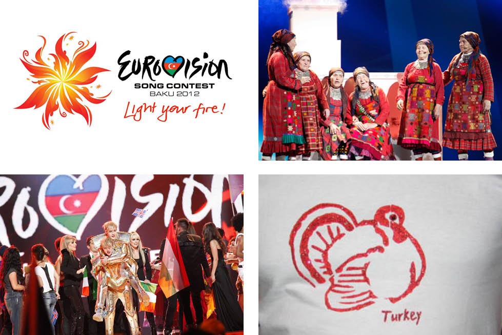 eurovision 2012 song contest contestants