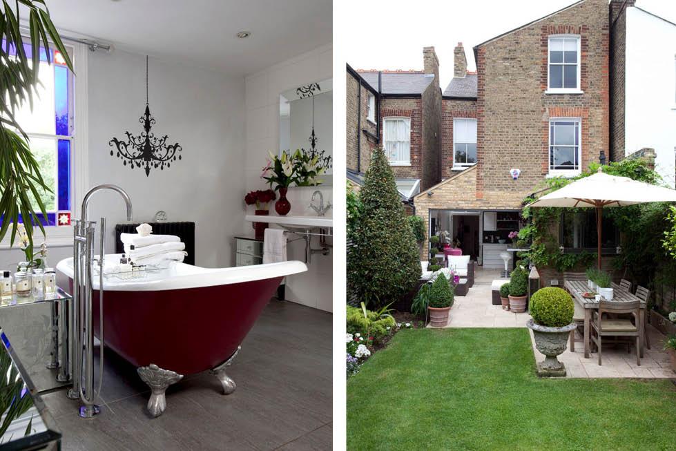 interior design bathroom and backyard ideas