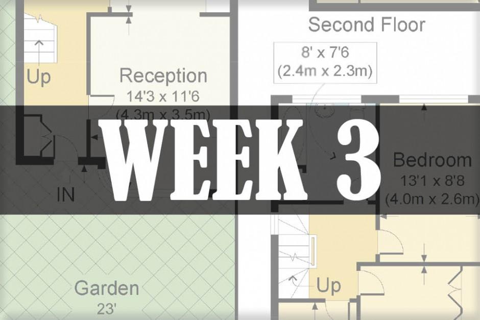 home renovations week 3
