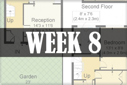 home renovations week 8
