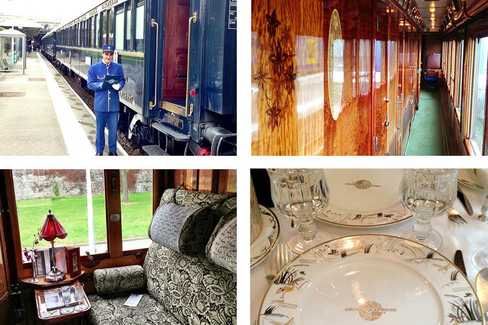 VSOE train interior