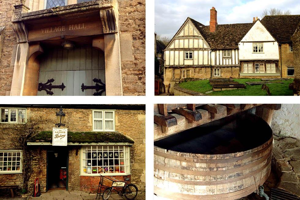Lacock village Wiltshire