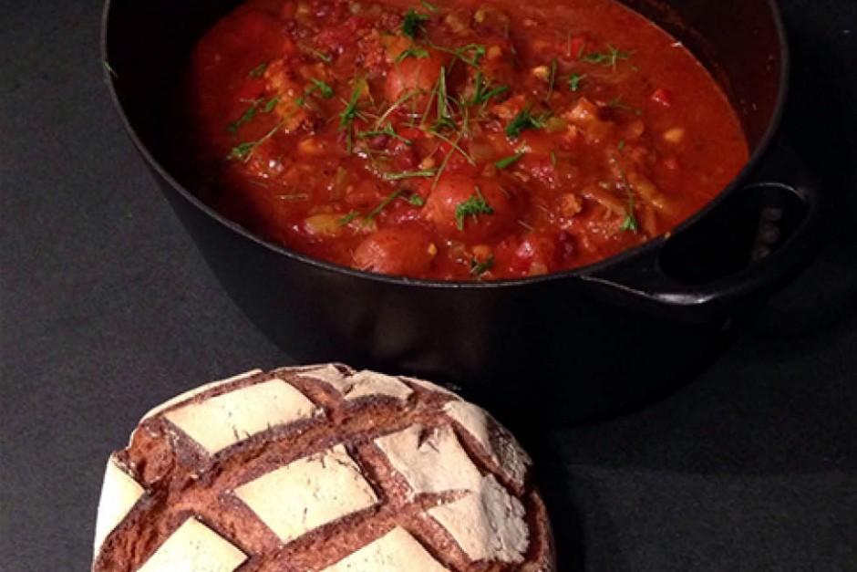 Winter Sausage & Bean Cassoulet