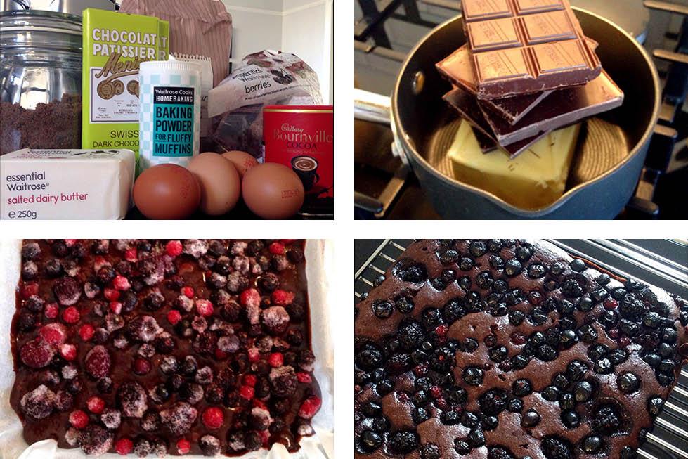 berry-chocolate-brownies