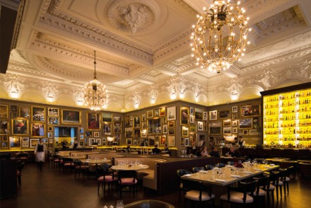 Berners Tavern London interior
