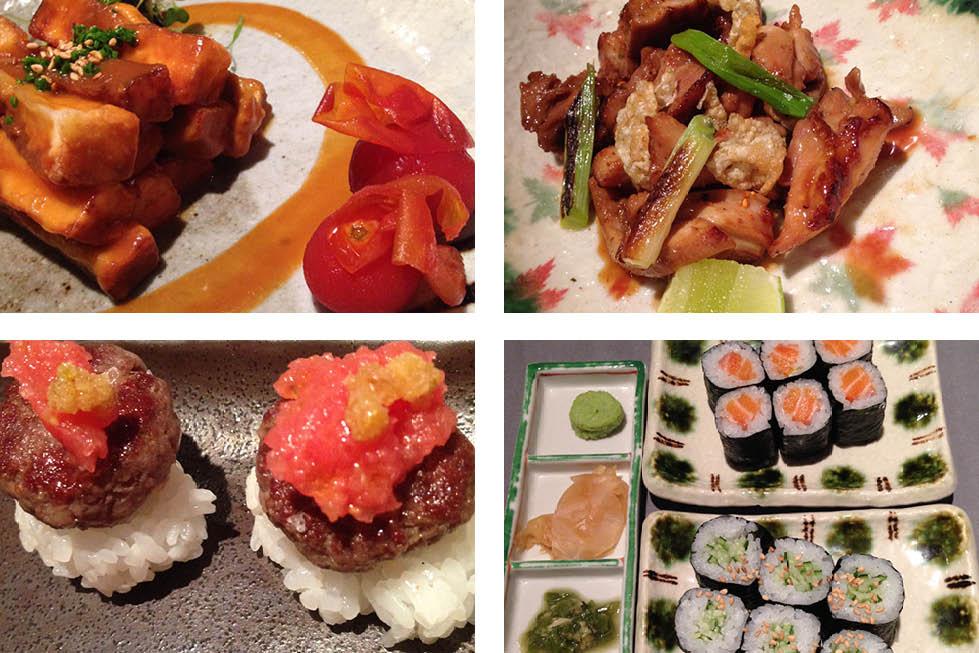 Kabuki Restaurant Abama Hotel Tenerife dishes