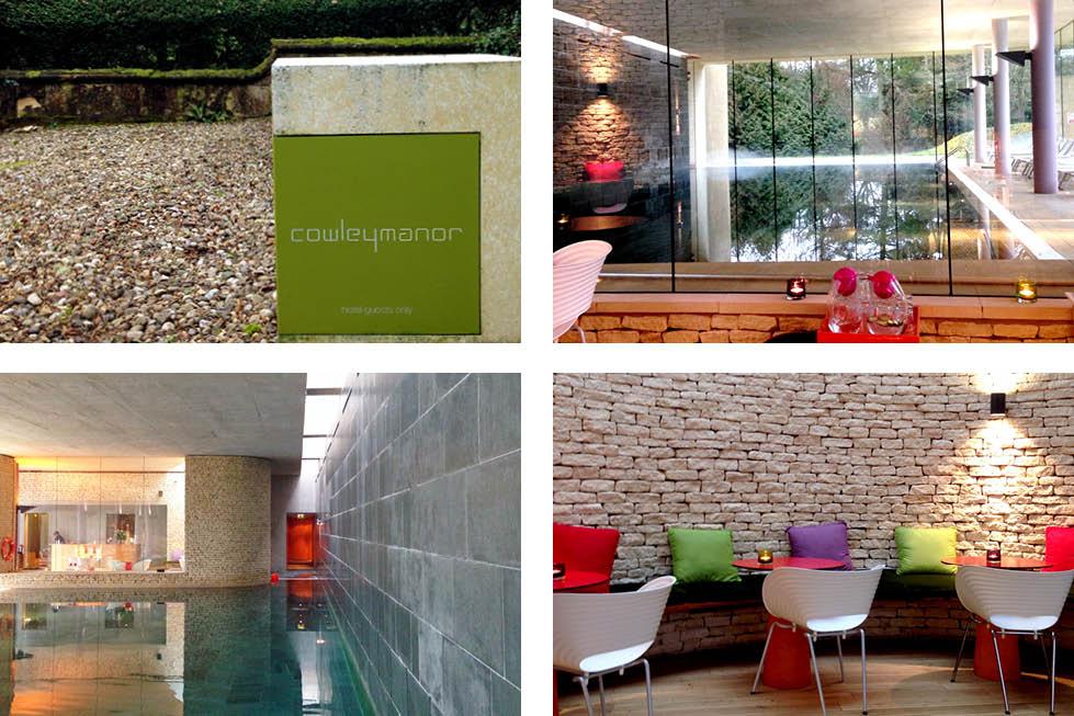 Cowley Manor Cheltenham spa