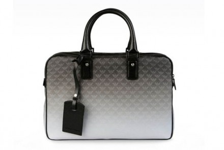 Armani briefcase
