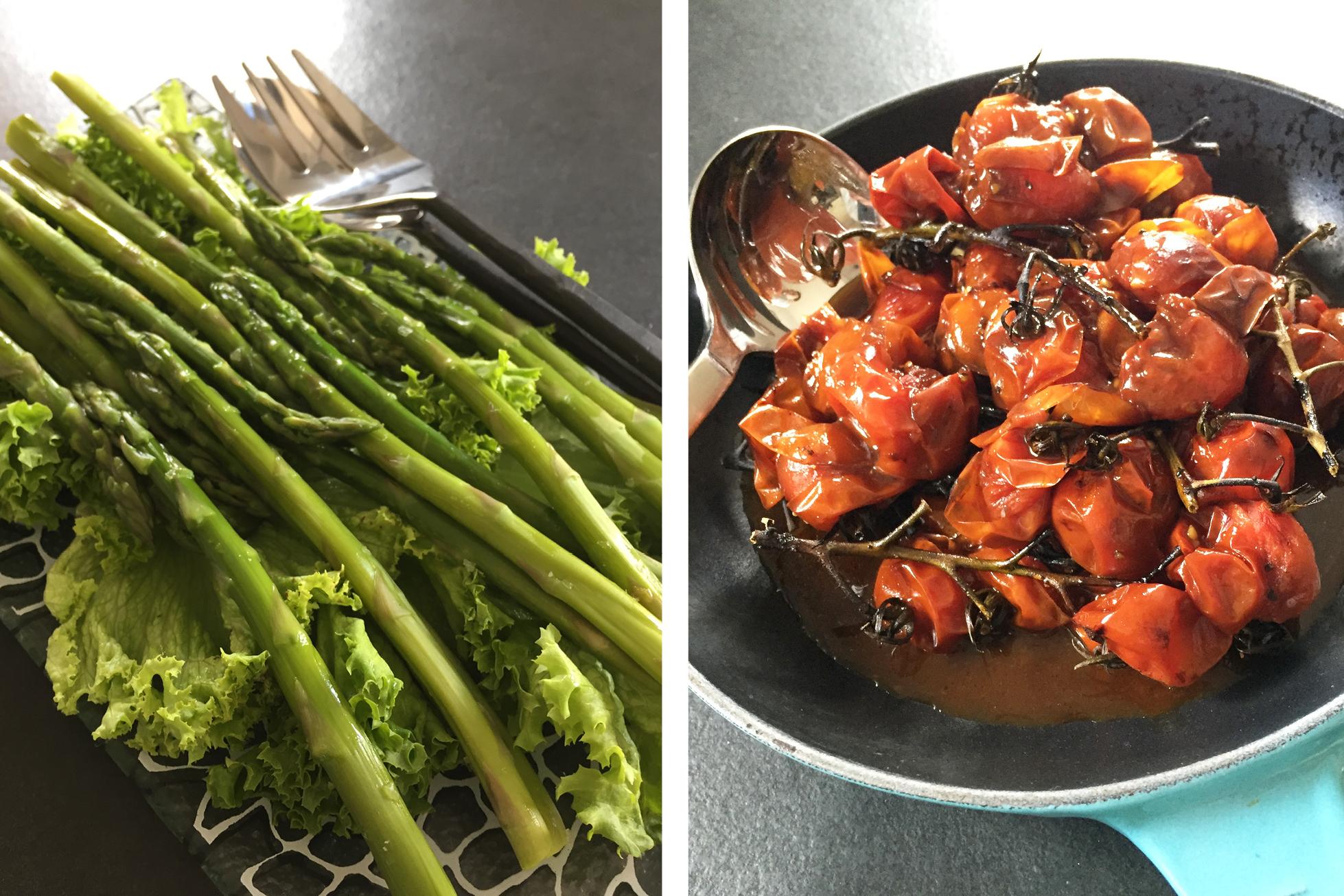 vegan lunch vegetables