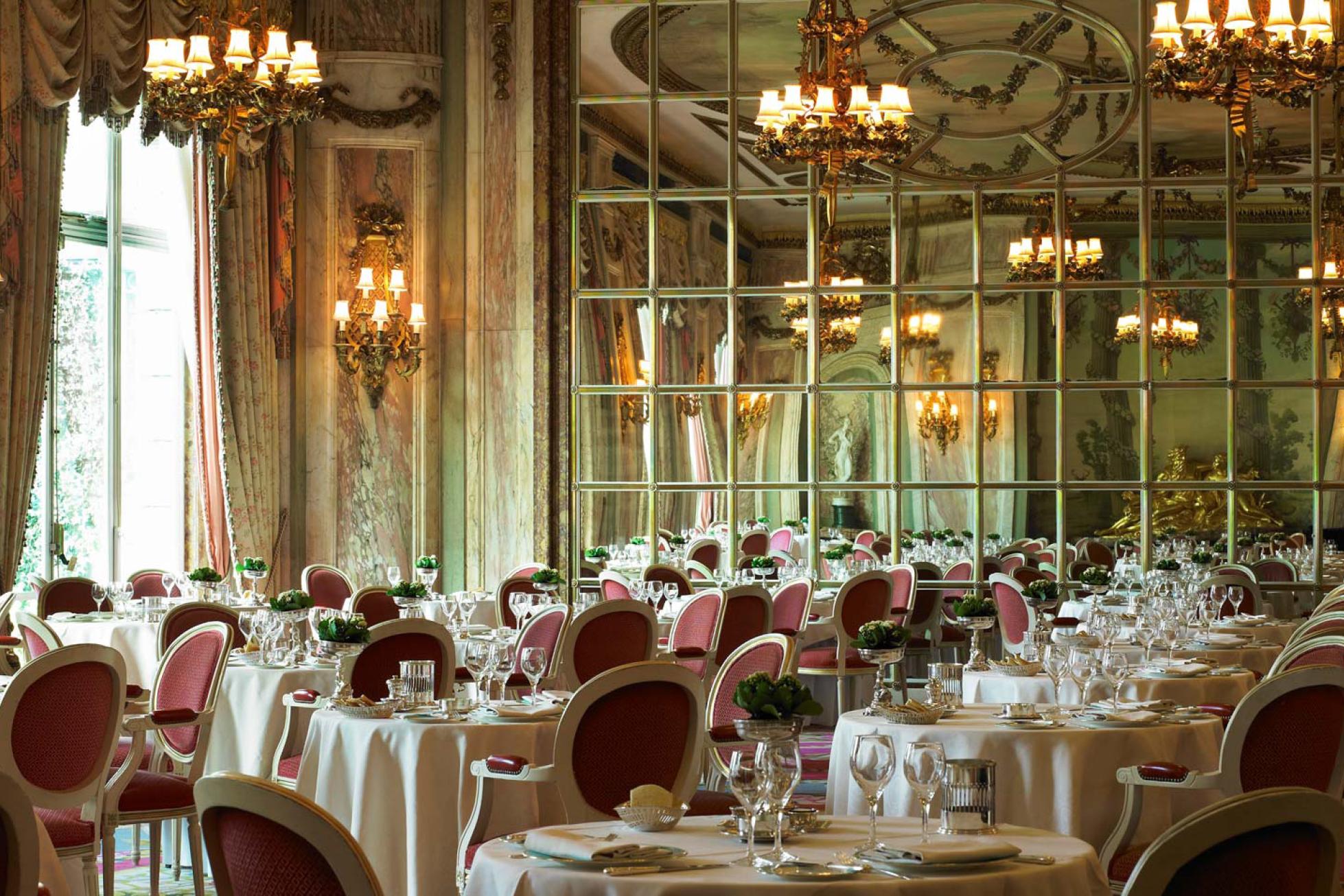 The ritz restaurant interior
