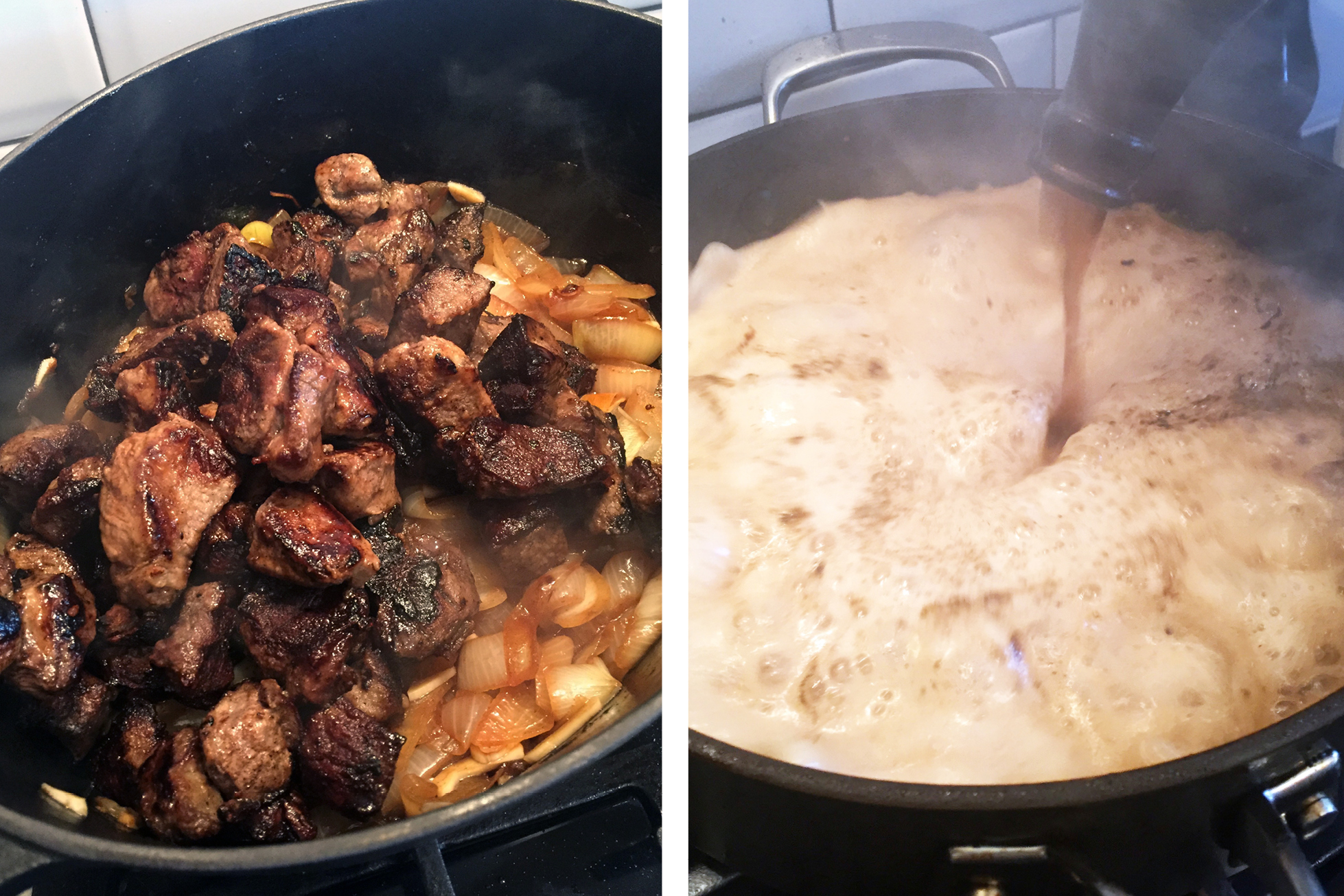 beef stew process