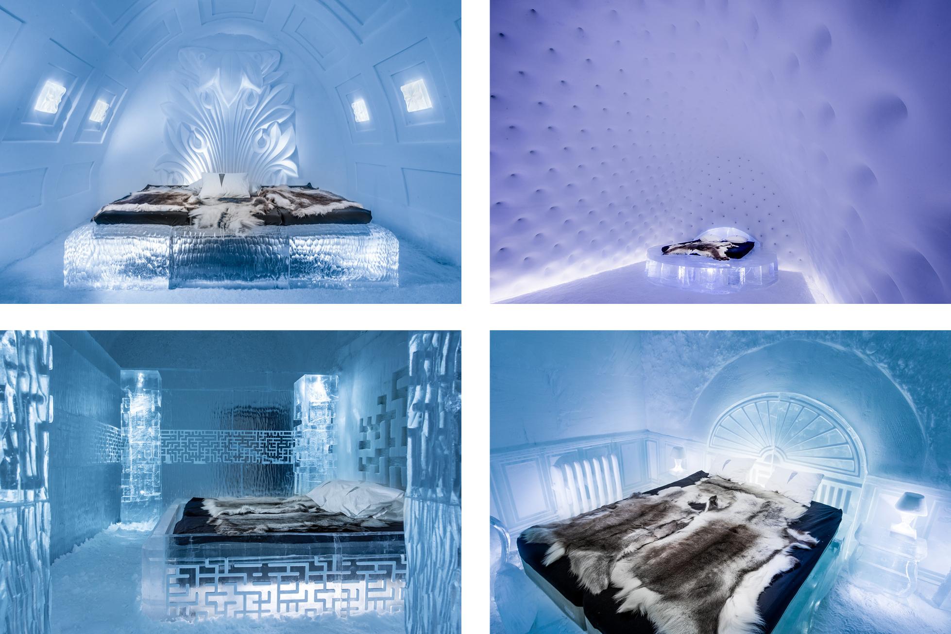 ICEHOTEL sweden art rooms