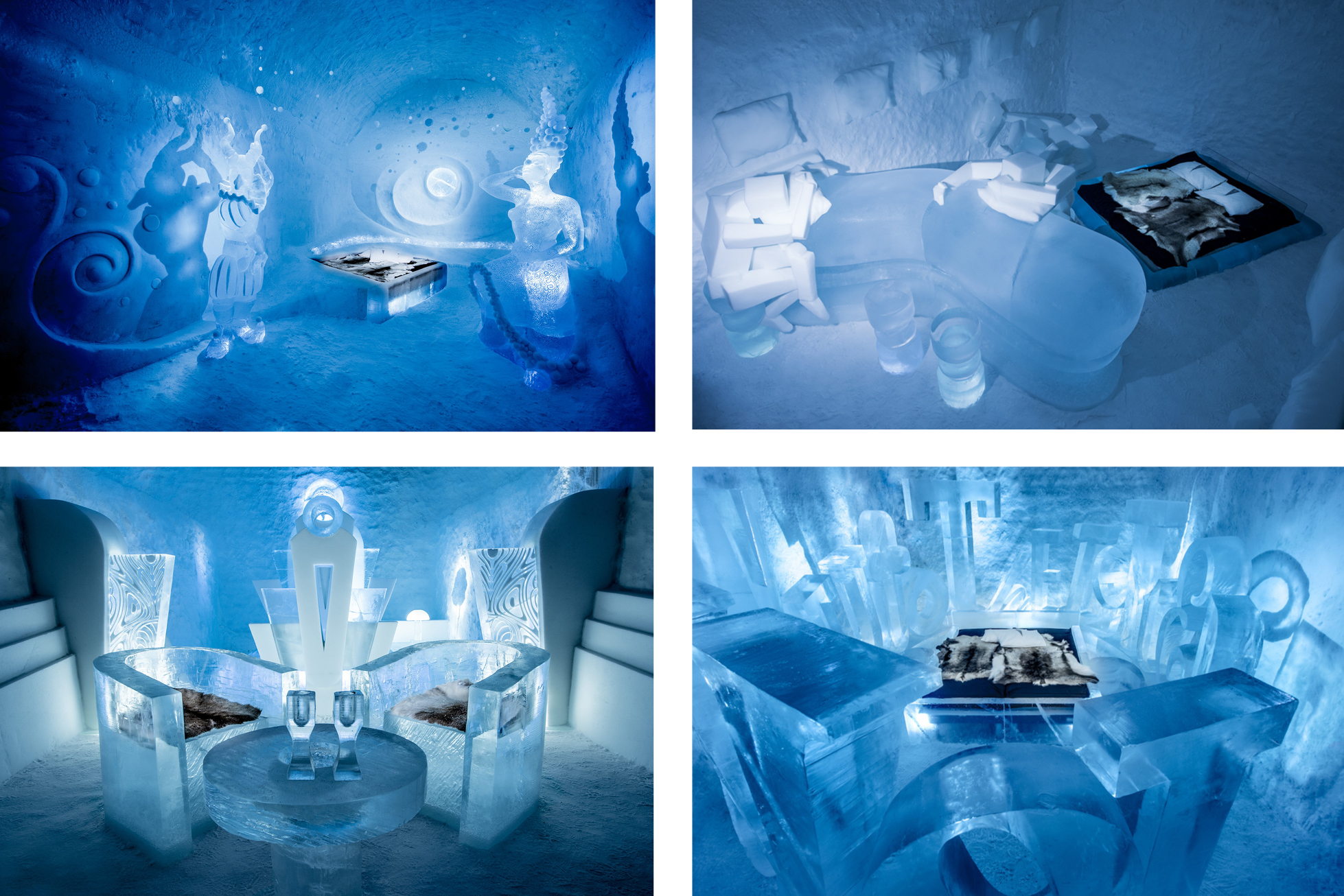ICEHOTEL sweden themed rooms