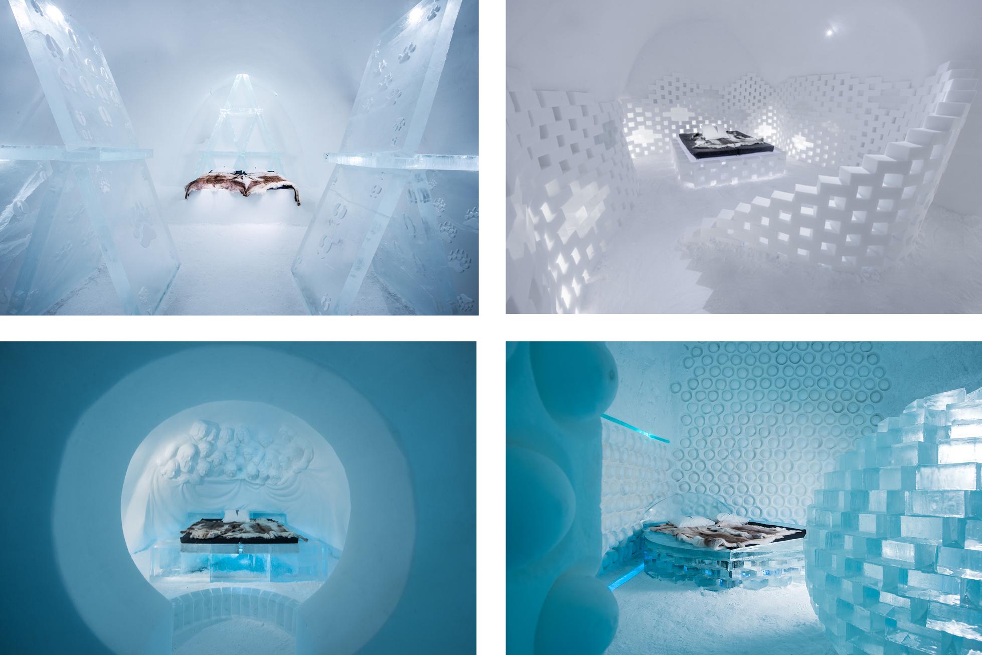 ICEHOTEL sweden designed rooms