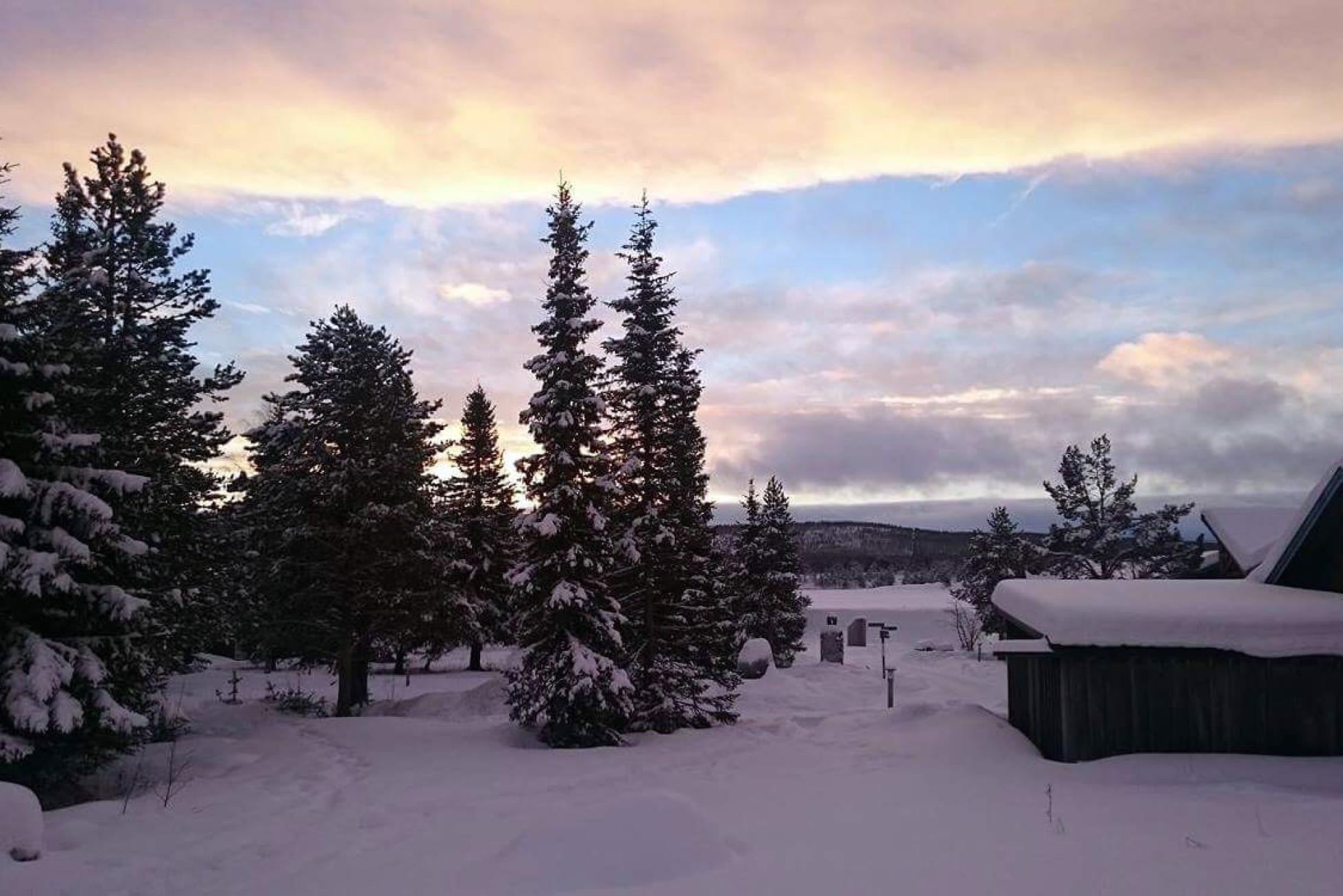 ICEHOTEL sweden sky