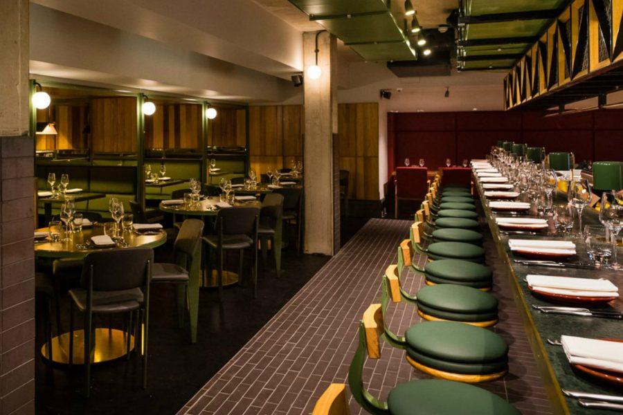 temper restaurant interior