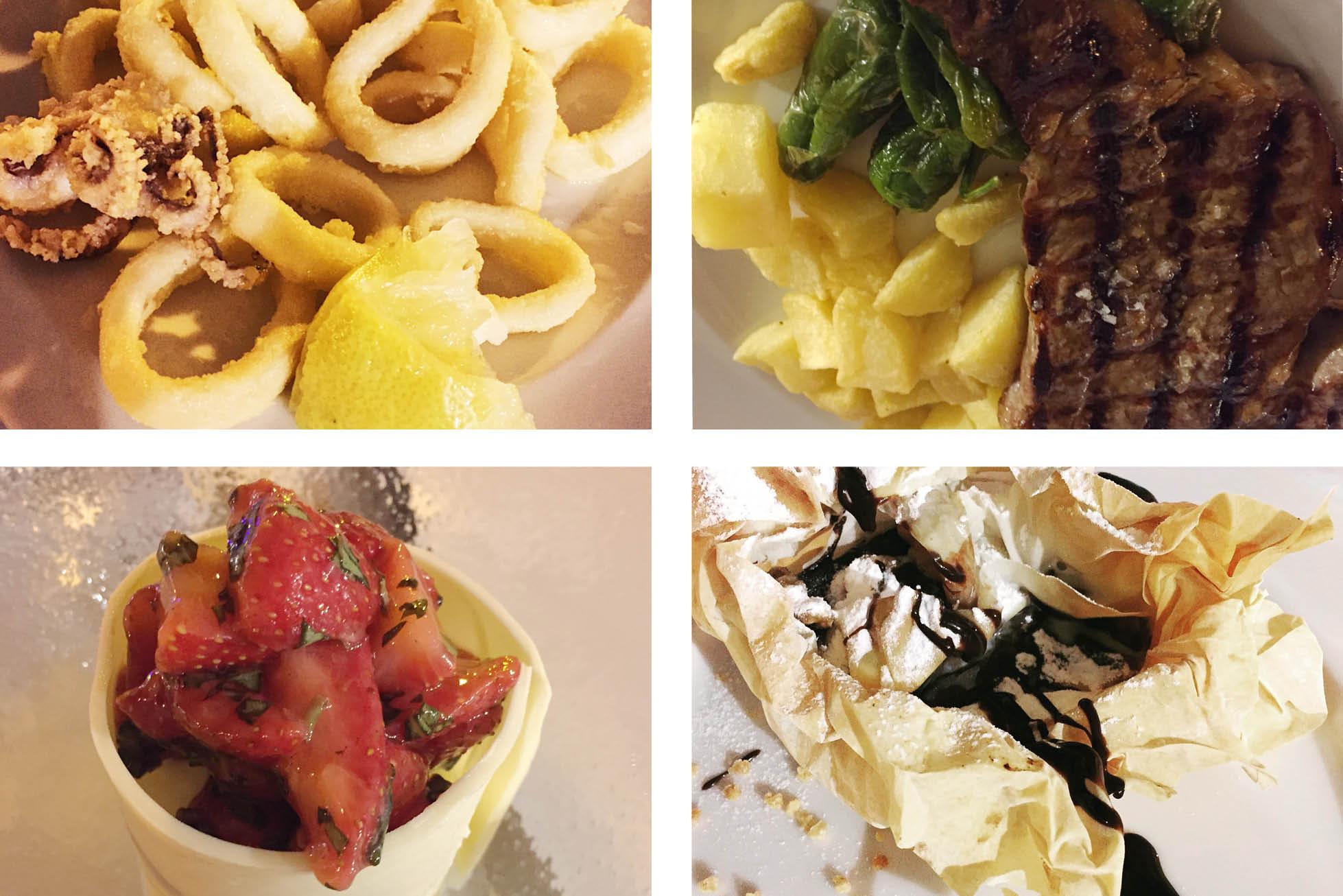 Café Balear restaurant dishes