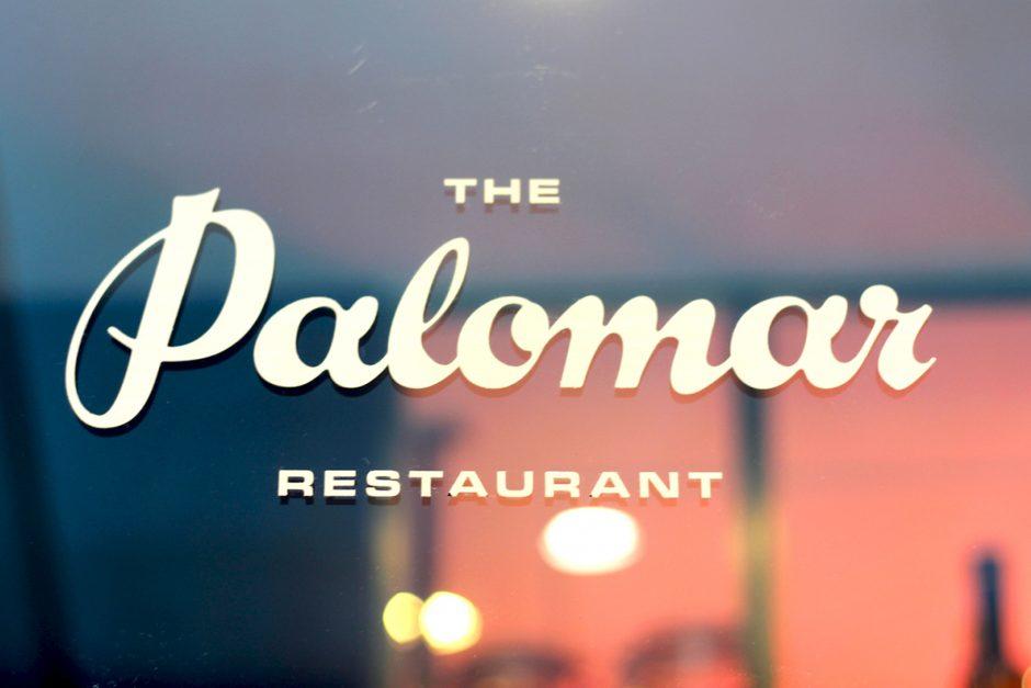 The Palomar restaurant