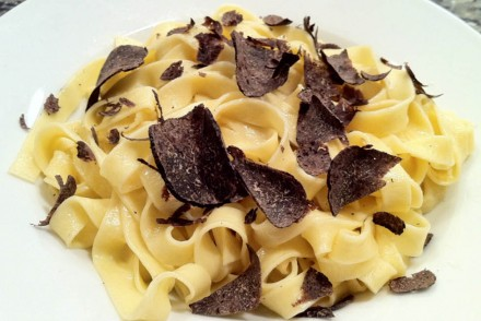 creamy truffle pasta