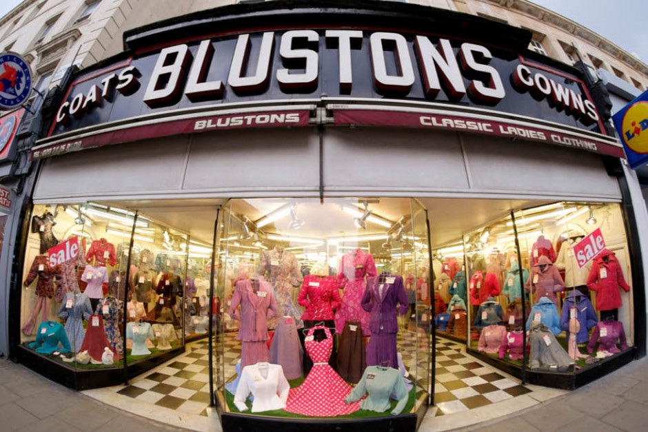 Blustons store london