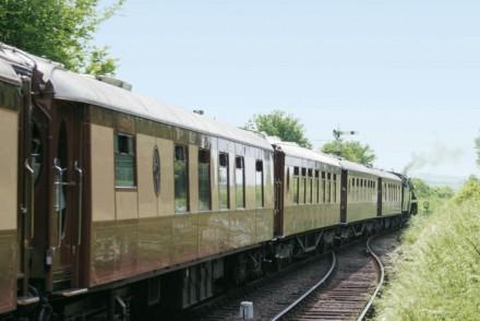 British Pullman train