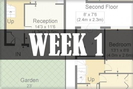 home renovations week 1