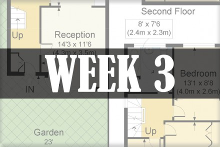 home renovations week 3