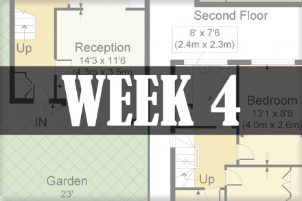 home renovations week 4