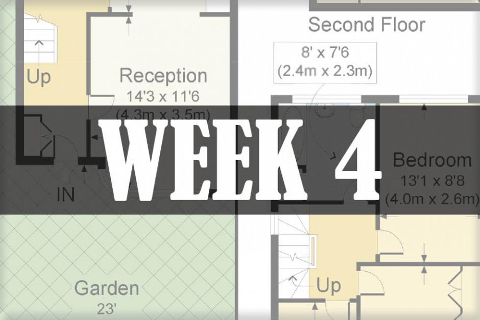 home renovations week 4
