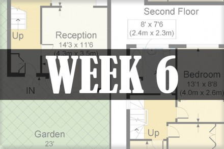 home renovations week 6