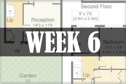 home renovations week 6