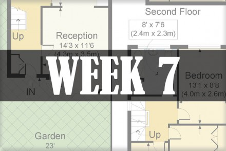 home renovations week 7