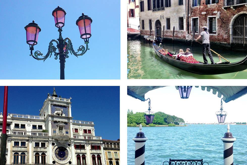 Venice Italy canal views