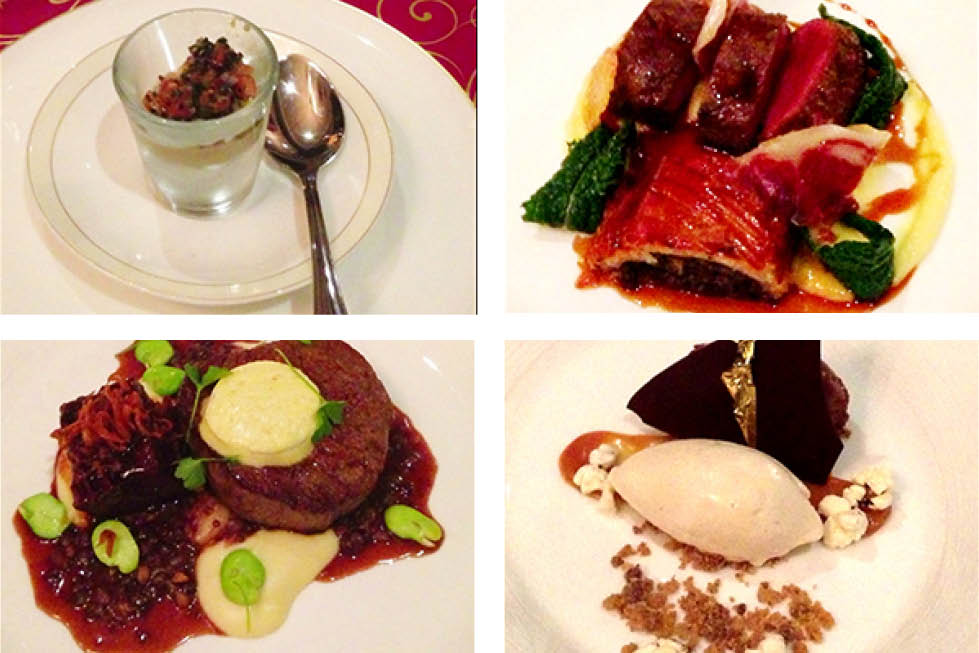 Darleys Restaurant, Blue Mountains dishes