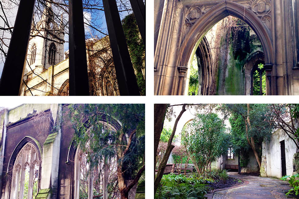 St Dunstan-in-the-East grounds