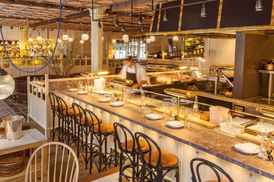 Chiltern Firehouse Restaurant interior
