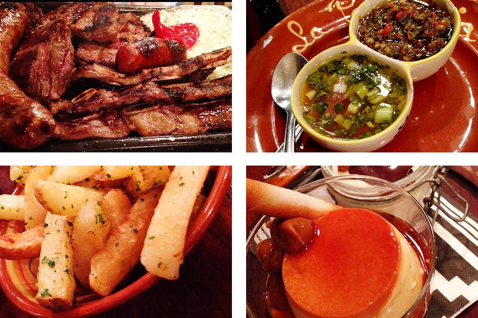 La Patagonia Argentine Restaurant food