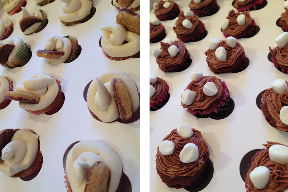 Mini Cupcakes flavours baking