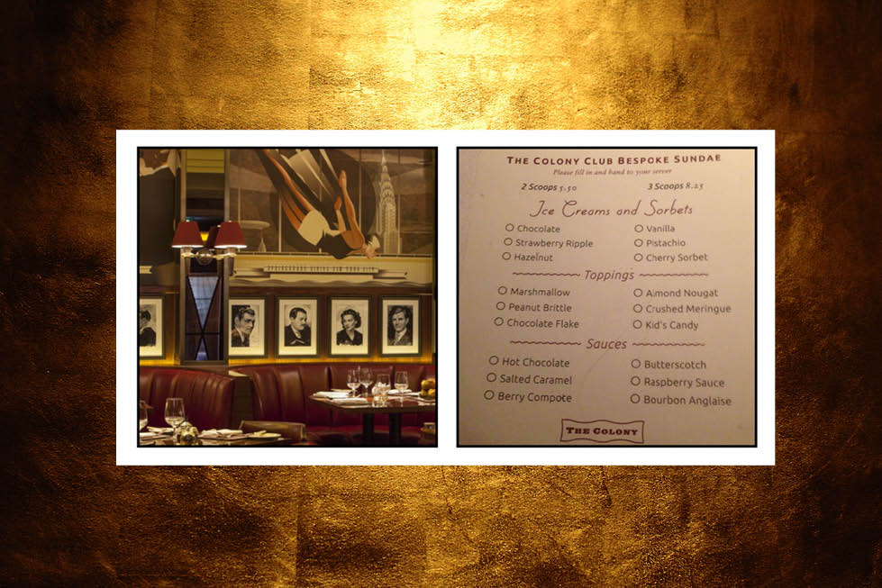 The Colony Grill Room at The Beaumont Hote