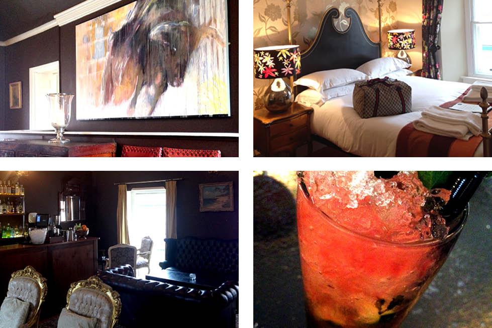 Bull Hotel Bridport interior