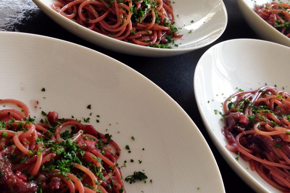 Italian drunken spaghetti