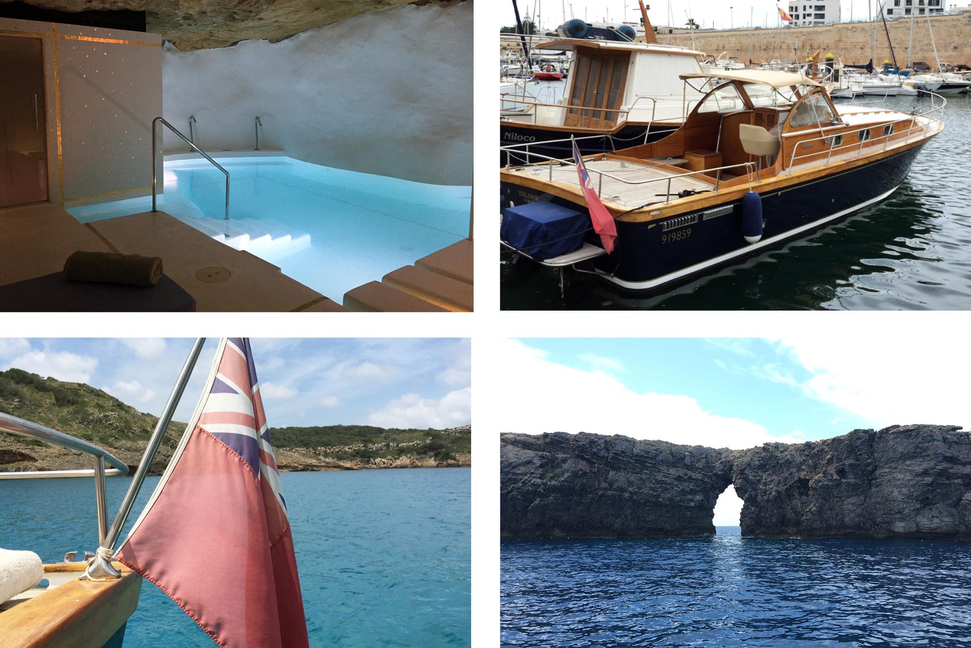 Hotel Can Faustino Menorca boat