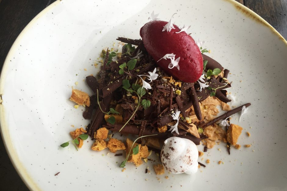 Selfridge's forest restaurant dessert
