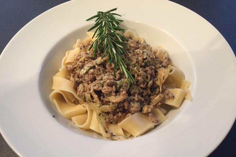 Fennel and Pork Pappardelle