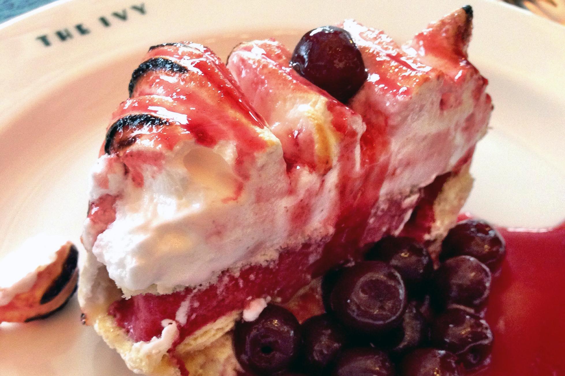 Ivy dessert