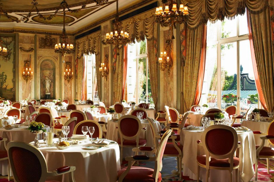 Ritz hotel London restaurant