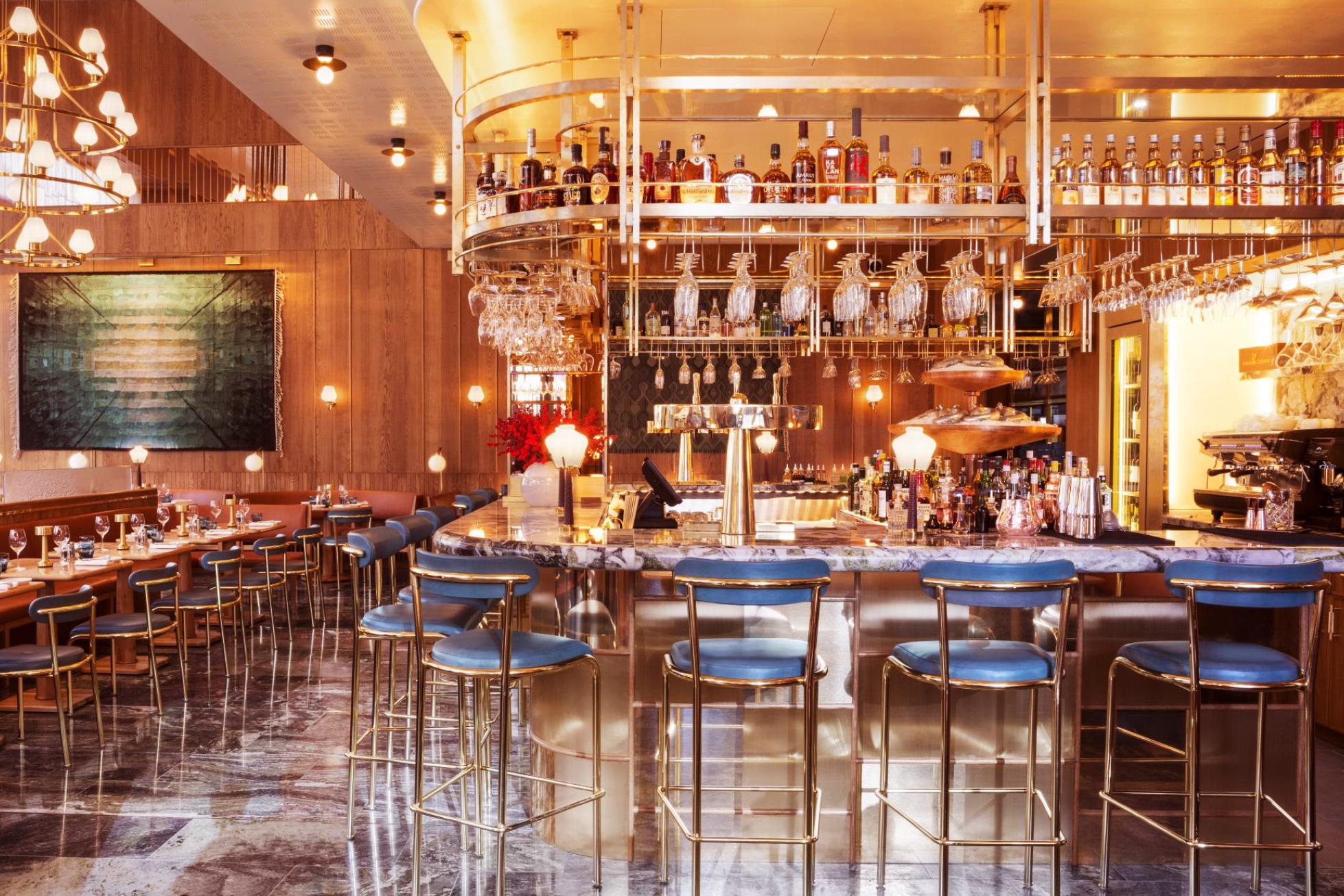 aquavit london restaurant bar