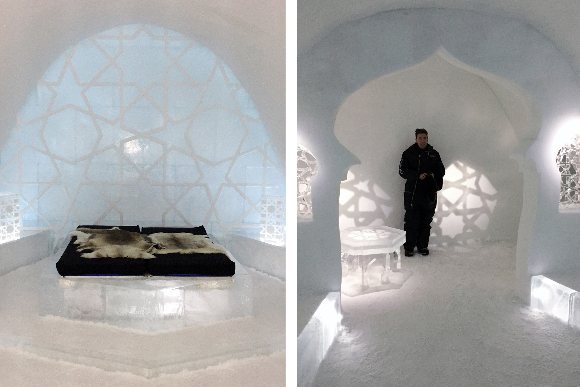 ICEHOTEL sweden morocco theme room