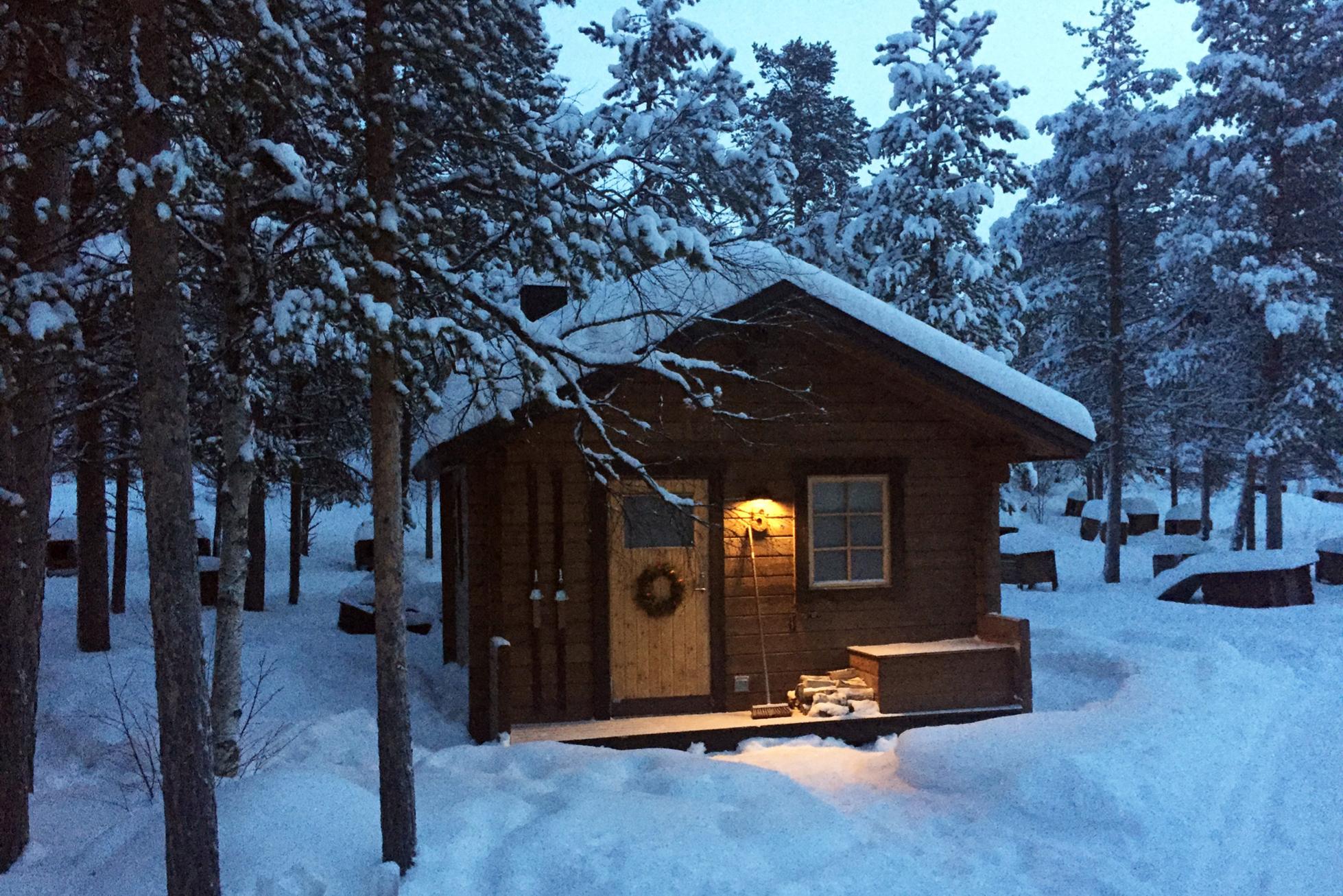 ICEHOTEL sweden wilderness cabin