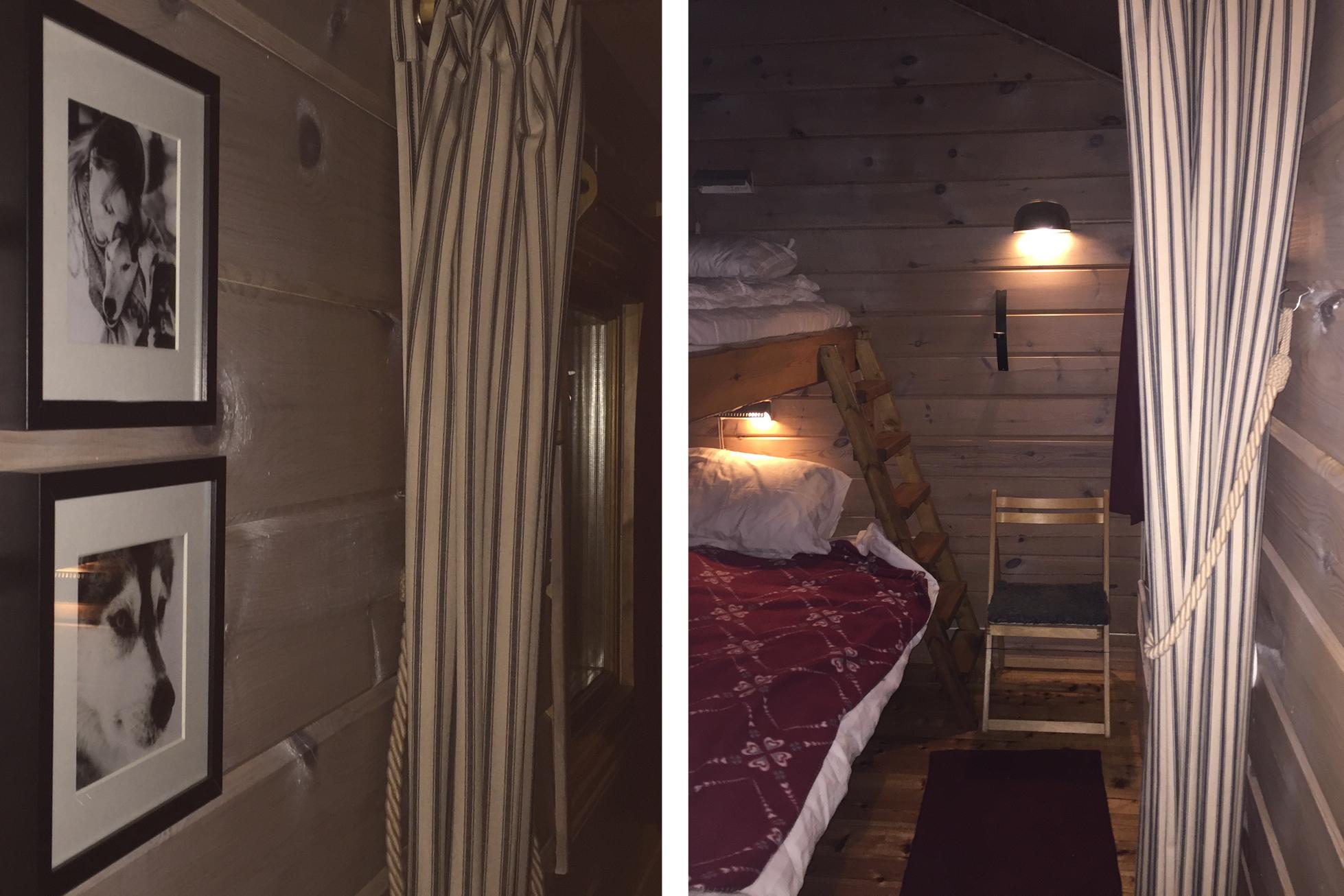ICEHOTEL sweden wilderness cabin interior